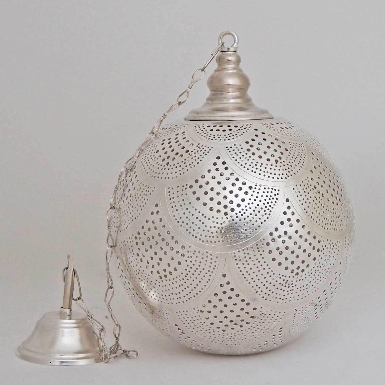 Arabische hanglamp Dahab - gesloten bol