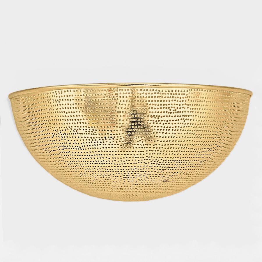 Arabische wandlamp Helal G - goudkleurig