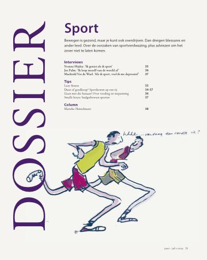 Genoegdossier 81 Simpel sporten