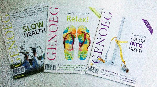 3 nummers. Thema's: gezondheid, relax en info-dieet