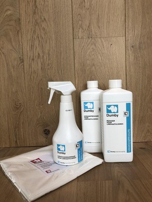 Onderhoudsset voor laminaatvloeren