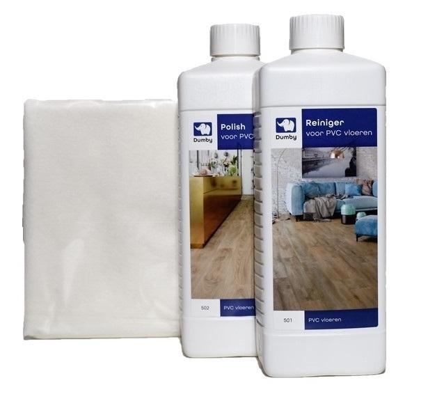 Onderhoudsset voor PVC vloeren