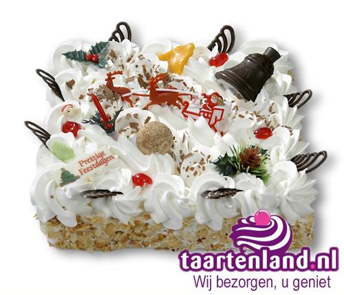 Luxe Kersttaart