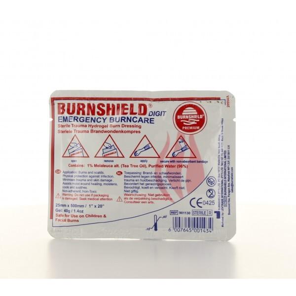 Burnshield Vingerstrip 25 mm x 50 cm