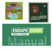 Set ophangbeugels Escape-Chair®