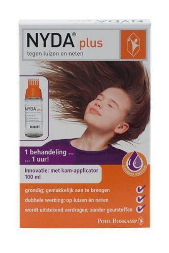 NYDA Plus met kam applicator 100 ml