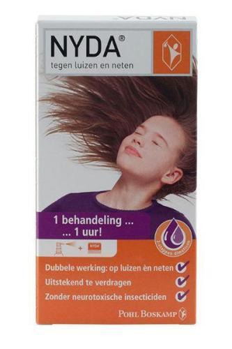 NYDA Luizen/neten/eitjes spray 50 ml