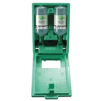 Plum Oogspoelstation stofdichte wandbox met 2 x 1000 ml flessen Duo