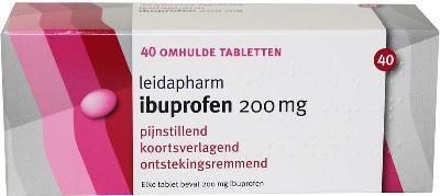 Ibuprofen 200mg 40 tab.