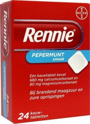 Rennie pepermunt 24kt