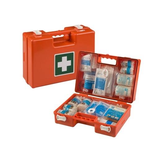 Verbandkoffer Medimulit BHV inclusief wandhouder, ingericht volgens de richtlijnen 2016 Het Oranje Kruis