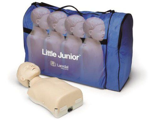 Laerdal Little Junior 4 stuks in draagtas (blank)
