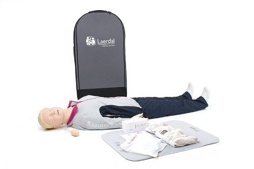 Laerdal Resusci Anne First Aid full body in trolley koffer
