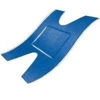 Blauwe detectie pleisters 72 x 38 mm 50 stuks Textiel HACCP