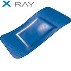 X-ray Blauwe detectie pleisters PE 72 x 50 mm 100 stuks HACCP