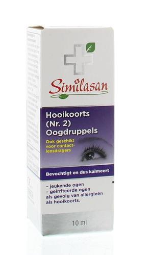 Similason Hooikoorts (nr.2) oogdruppels 10 ml
