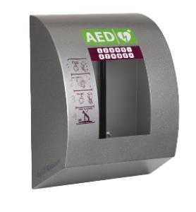SixCase AED kast (Aluminium) SC 1340 met alarm, verlichting, verwarming, fan-koeling en pincode