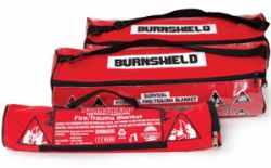 Burnshield Contourdeken 1 m  x 1 m in tas