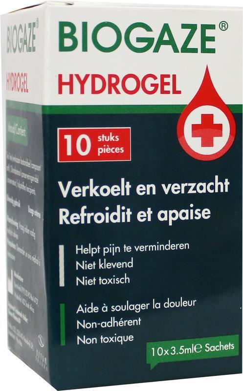 Biogaze Hydrogel 3,5 ml 10 stuks