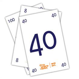 Planningpoker kaarten