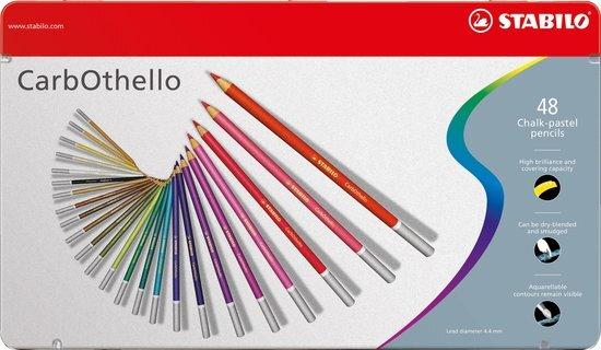 CarbOthello chalk pastel pencils