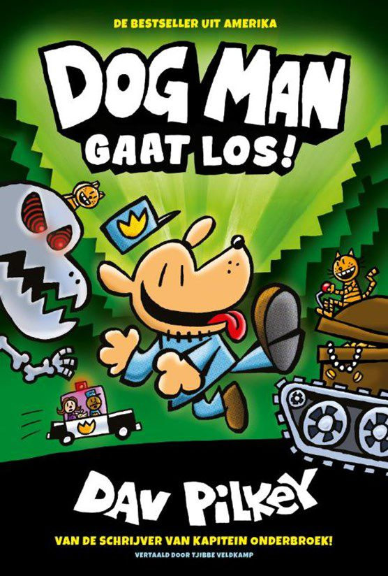 Dav Pilkey - Dogman gaat los
