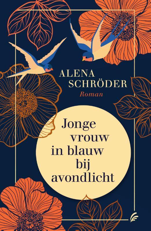 Alexa Schreuder - Jonge vrouw in blauw avondlicht