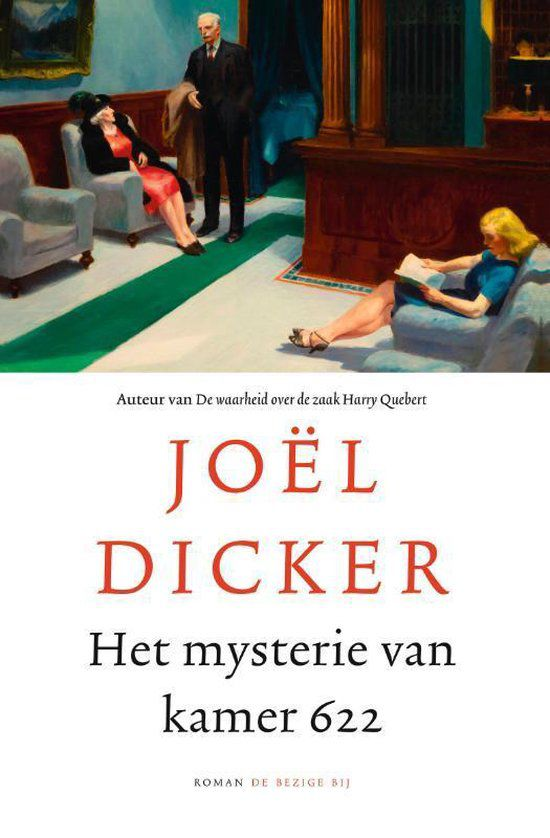 Joel Dicker - Het mysterie van kamer 622