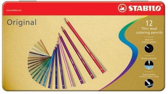 Original thin lead coloring pencils