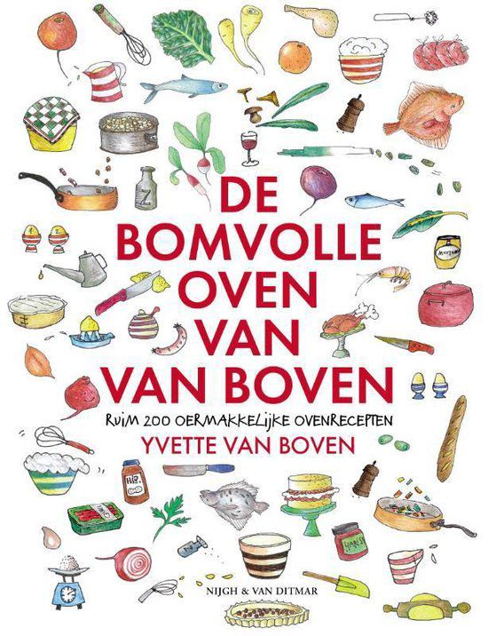 Yvette van Boven - De bomvolle oven van Boven
