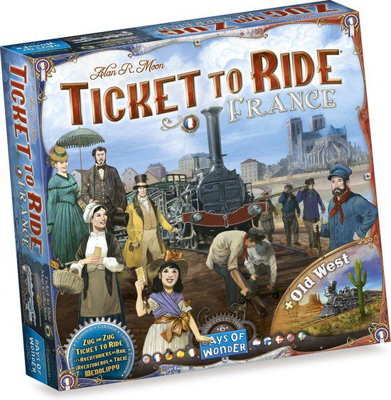 Ticket To Ride: France/ Old Town