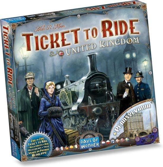 Ticket To Ride: UK/ Pennsylvania