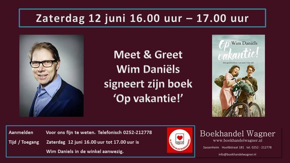 Uitnodiging: Meet & Greet met Wim Daniels