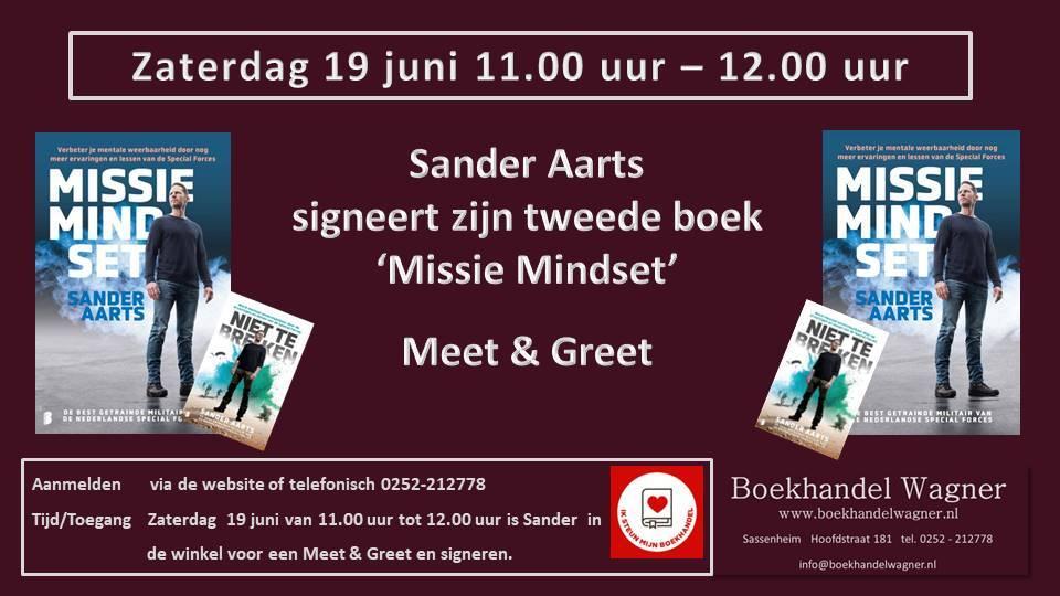 Uitnodiging: Meet & Greet met Sander Aarts