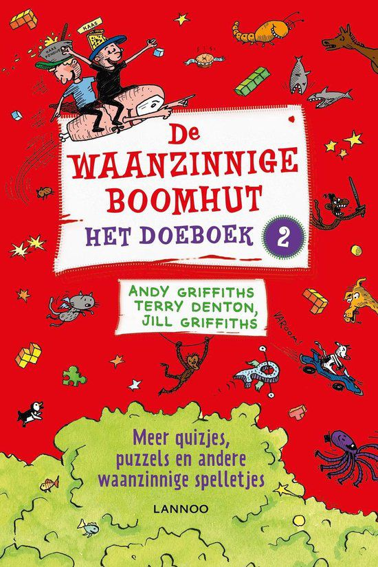 Andy Griffits & Terry Denton - De waanzinnige boomhut doeboek 2