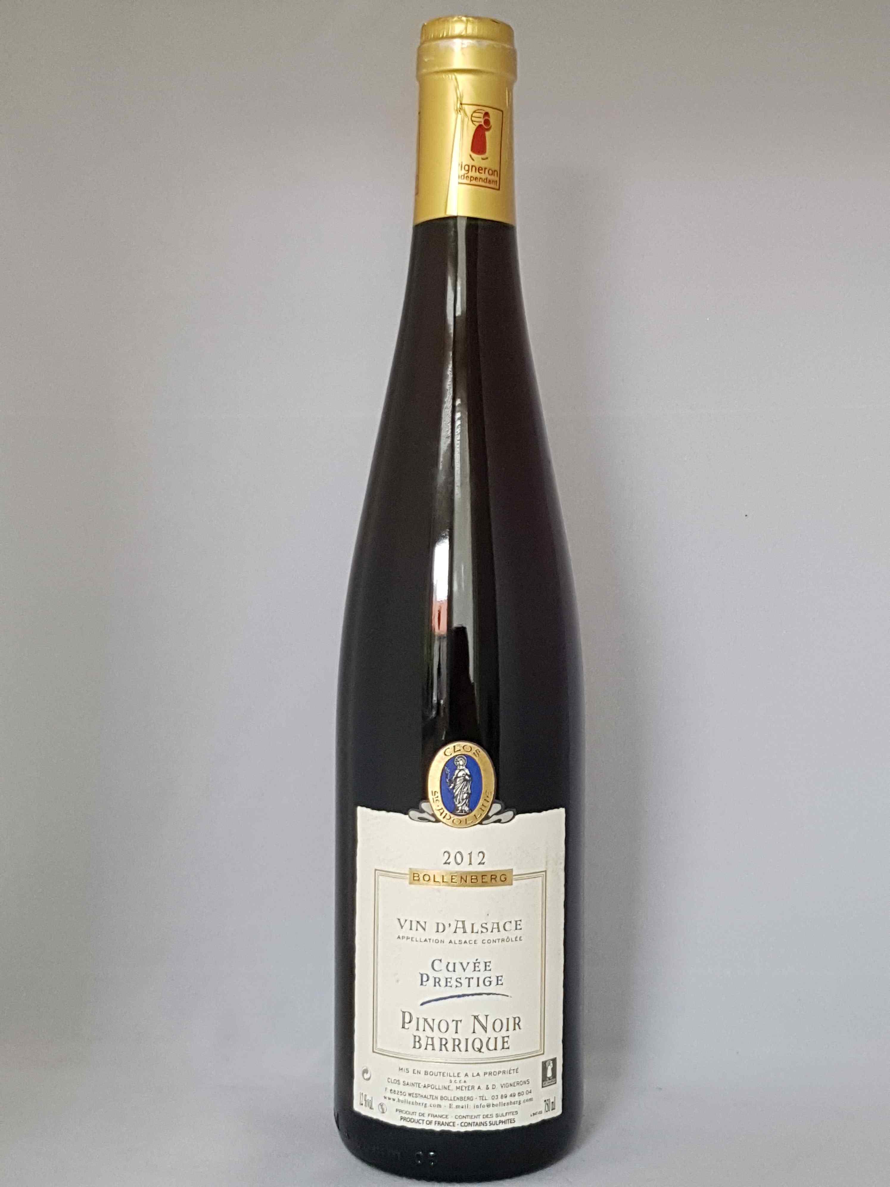Pinot Noir Barrique 2012