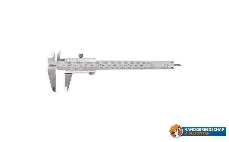 "Schuifmaat 150 mm<br /><FONT SIZE=""0.8""> Mitutoyo 530-104</FONT>"