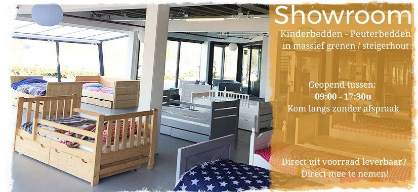 Showroom Kinderbedden en Peuterbedden