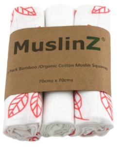 MuslinZ Bamboe&Biologisch katoen Hydrofiel