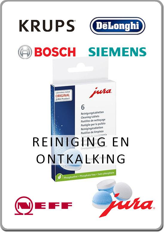 Jura Bosch Siemens Krups Onderhoudsmiddelen