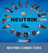 Neutrik connectors