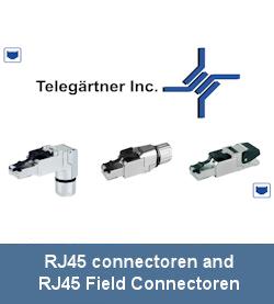 RJ45 connectoren and RJ45 Field Connectoren