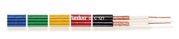 Divisible shielded flat cable 2x0,25<br />C121
