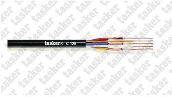 Multivideo shielded cable 3x0.12 + 2x0.12<br />C125
