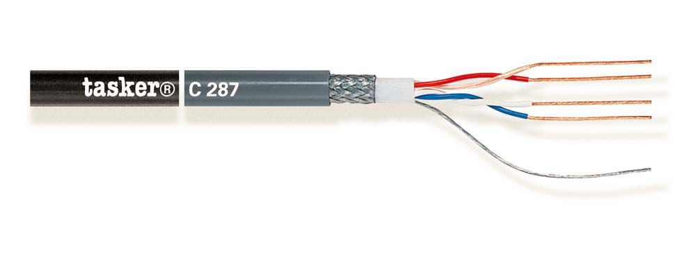 Quad microphone cable 2x2x0.22<br />C287