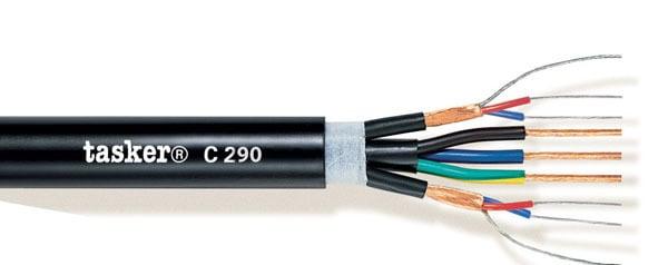DMX cable digital audio+Power 2x2x0.22+3x2.50<br />C290