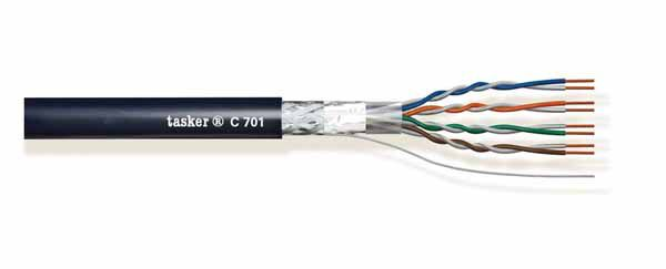 LAN cable 5e S.F-U.T.P.<br />C701