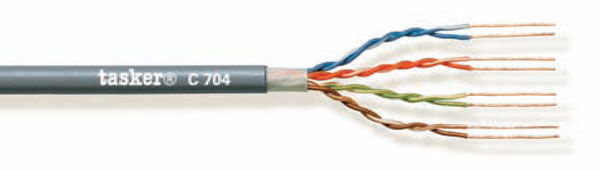 LAN cable 5e U.T.P.<br />C704