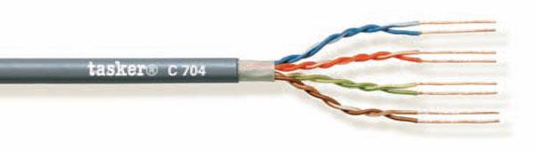 LAN cable 5e U.T.P.<br />C704