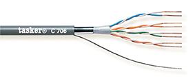 LAN cable 5e F-U.T.P.<br />C706